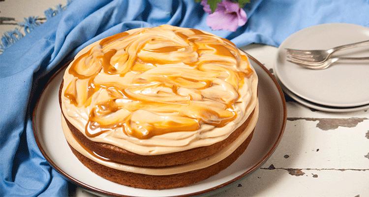 preparar tarta de banana