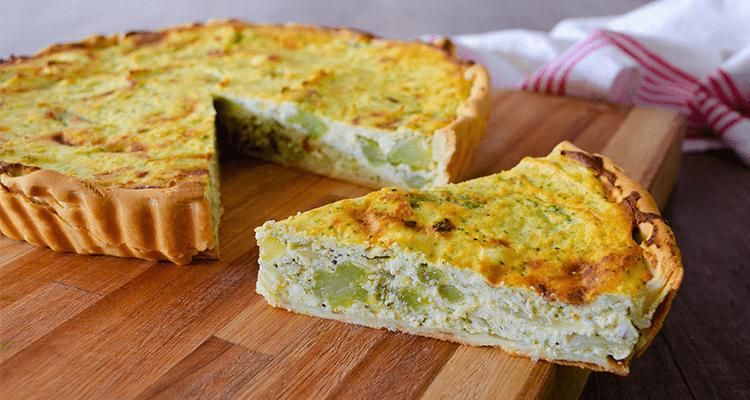 preparar tarta de brocoli