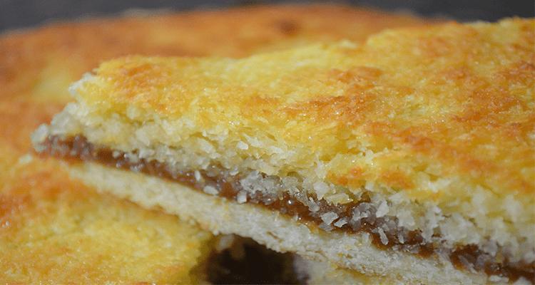 preparar tarta de coco