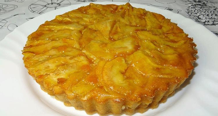 preparar tarta de pera