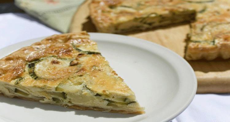 preparar tarta de zucchini