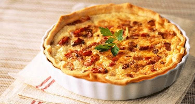 preparar tarta salada de origen frances