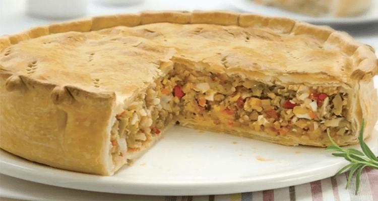 Receta de Tarta de Atún 【Deliciosa 🤤】