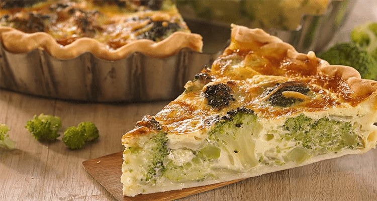 Receta de Tarta de Brócoli  【Deliciosa 🤤】