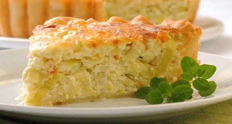 Receta de Tarta de Cebolla  【Deliciosa 🤤】