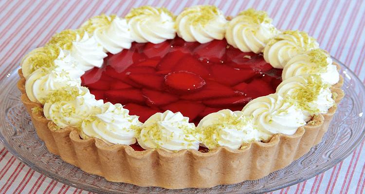 Receta de Tarta de Frutilla  【Deliciosa 🤤】