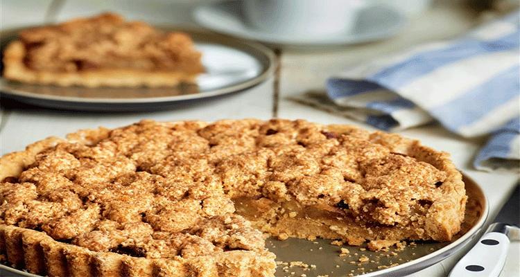 Receta de Tarta de Manzana Crumble