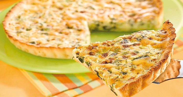Receta de Tarta de Puerros  【Deliciosa 🤤】