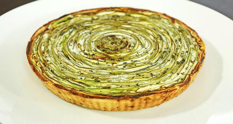 Receta de Tarta de Zucchini 【Deliciosa 🤤】