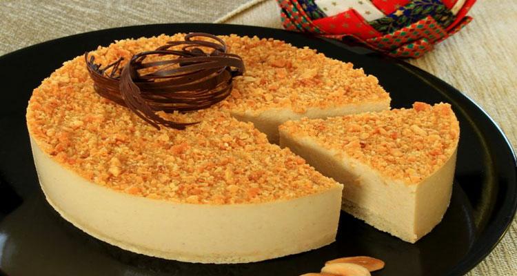 preparar tarta de turron