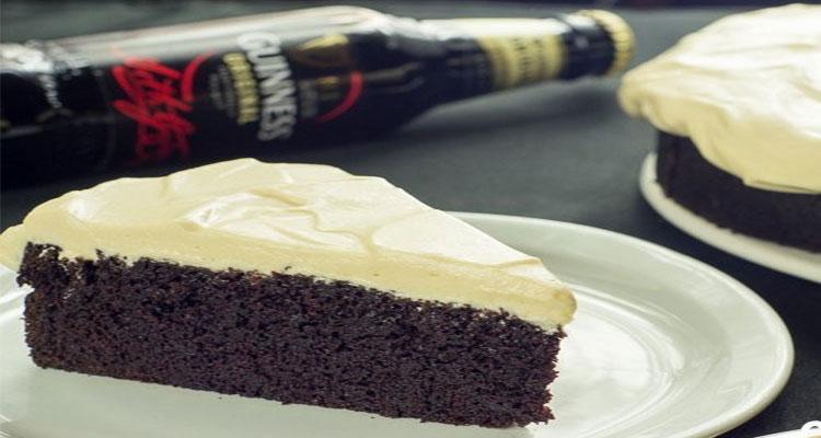 preparar tarta guinness