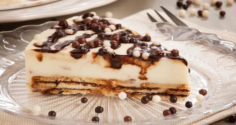 Receta de Tarta de Chocolate Blanco  【Deliciosa 🤤】