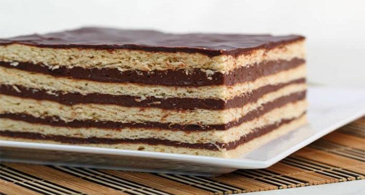 Receta de Tarta de Galletas 【Deliciosa 🤤】