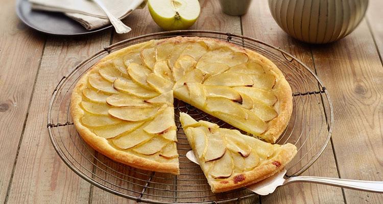Receta de Tarta de Manzana con Hojaldre  【Deliciosa 🤤】