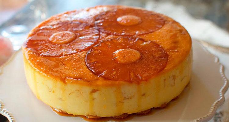 Receta de Tarta de Piña  【Deliciosa 🤤】