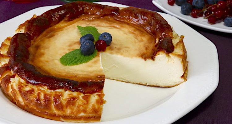 Receta de Tarta de Queso La Viña 【Deliciosa 🤤】