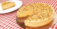 receta tarta de turron