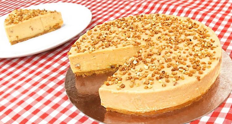 Receta de Tarta de Turrón 【Deliciosa 🤤】