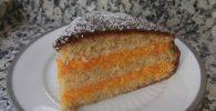 receta tarta zanahoria y coco