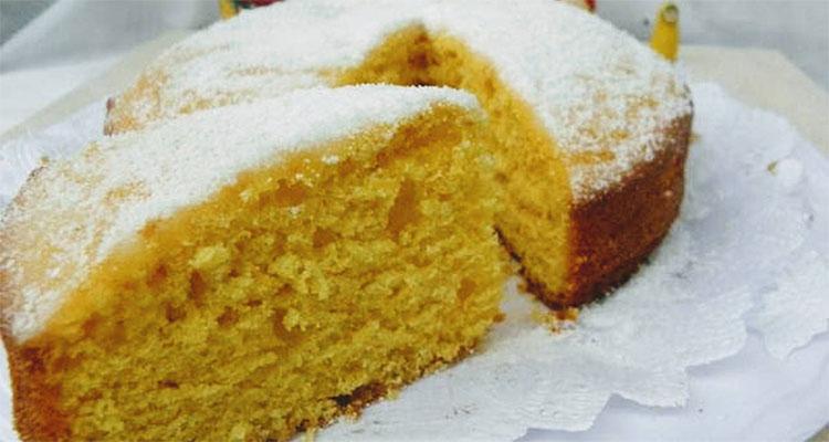 preparar torta de mandarina