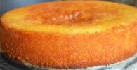 preparar una torta de naranja