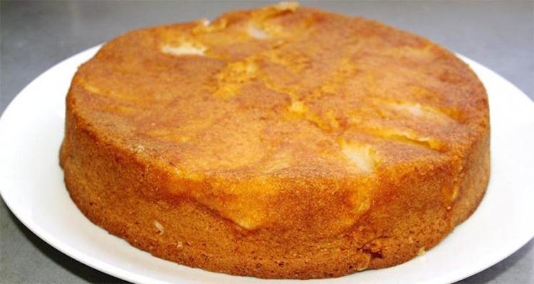 hacer torta de pera