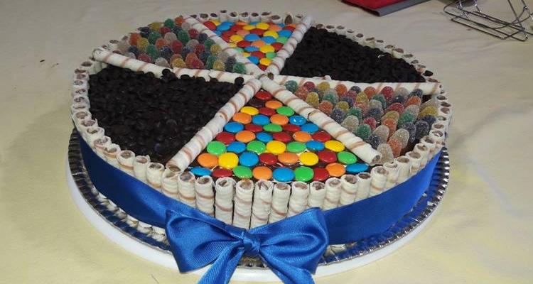 hacer torta golosinera