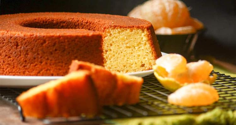 Receta de Torta de Mandarina en licuadora