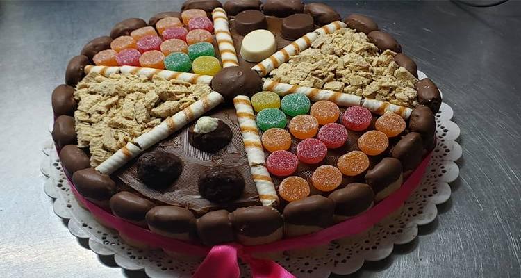 Receta de Torta Golosinera