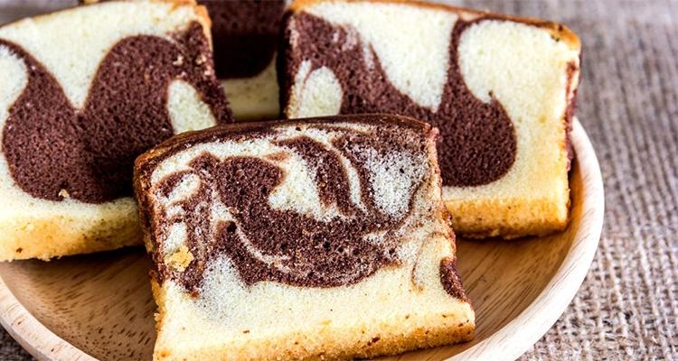 Receta de Torta Marmolada