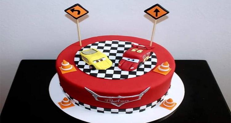 Receta de Torta de Cars