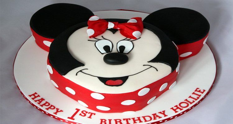 Receta de Torta de Minnie