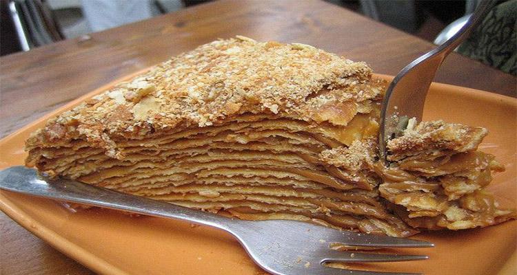 Receta de Torta Mil Hojas